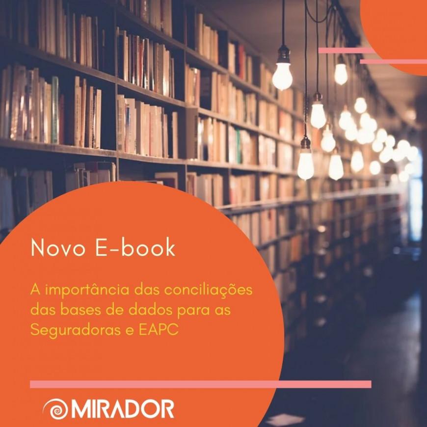 E-Book - A importância das conciliações das bases de dados para as Seguradoras e EAPC.