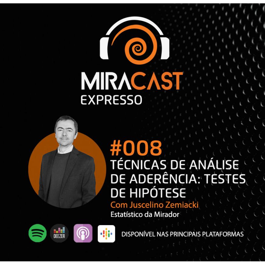 Miracast Expresso #008 - Técnicas de análise de aderência: testes de hipótese