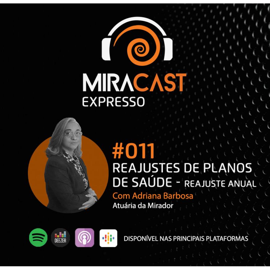 Miracast Expresso #011 - Reajustes de Planos de Saúde: Reajuste Anual