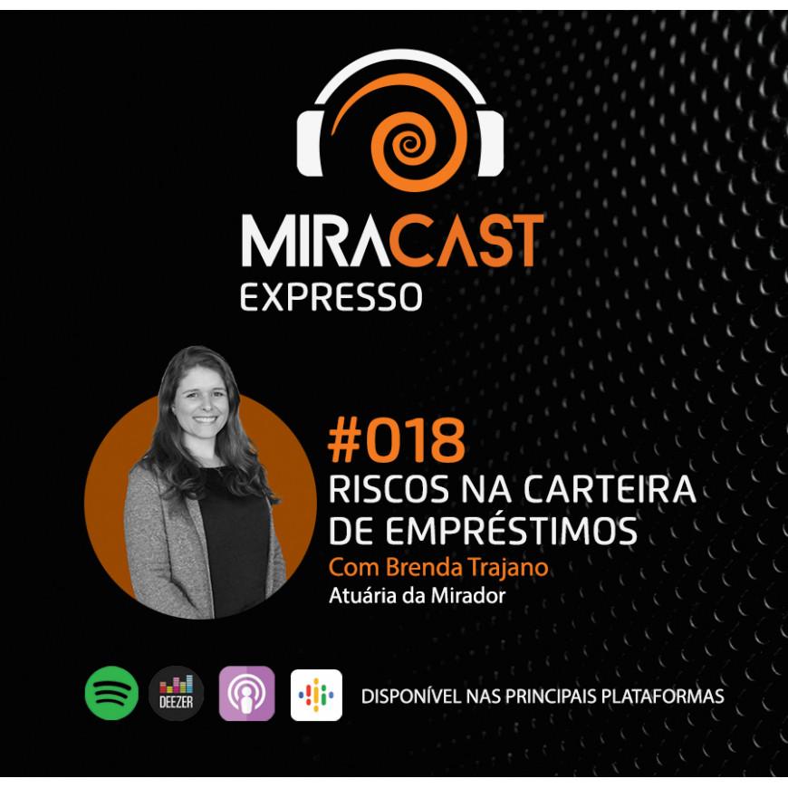 Miracast Expresso #018 – Riscos na Carteira de Empréstimos