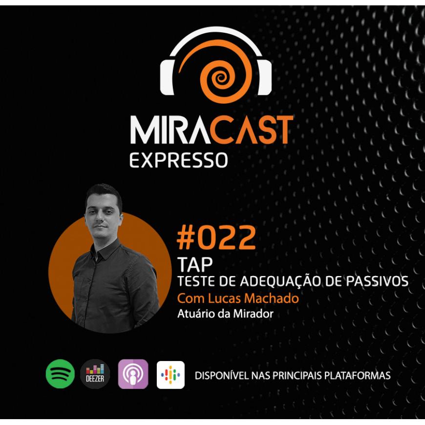 Miracast Expresso #022 – Teste de Adequação de Passivos (TAP)